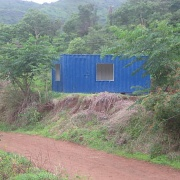 Clinic Blue Container